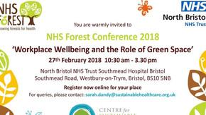 Sarah Jones-Morris speaker at the NHS Forest Conference