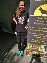Sonia Borras éducateur canin