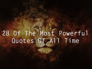 28 Powerful Quotes