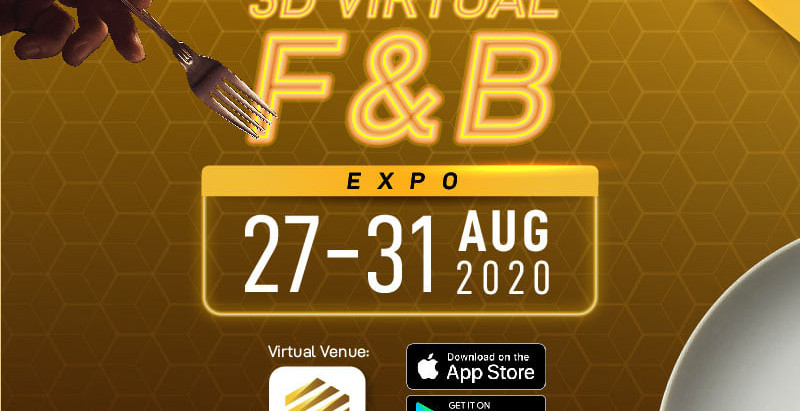 Beecomb 3D Virtual Food & Beverage Expo
