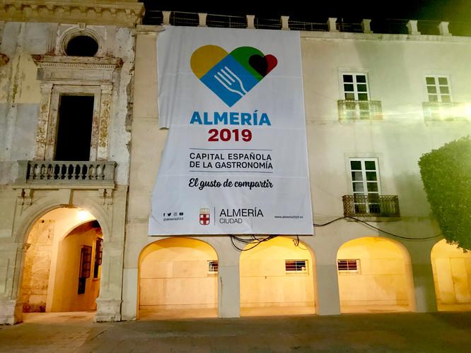 ALMERÍA CAPITAL ESPAÑOLA DE LA GASTRONOMÍA 2019 - TOUR DAY ONE