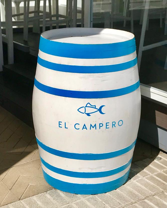 ANDALUCÍA - CÁDIZ - BARBATE - RESTAURANTE EL CAMPERO