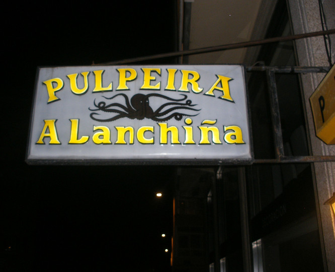 GALICIA - LA CORUÑA / A CORUÑA - PULPEIRA A LANCHIÑA
