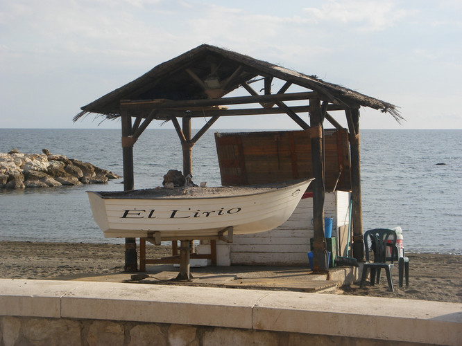 ANDALUCÍA - MÁLAGA - PEDREGAL - CHIRINGUITO EL LIRIO
