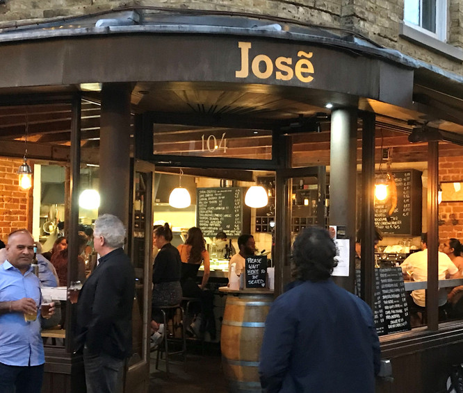 LONDON - BERMONDSEY - JOSÉ SHERRY & TAPAS BAR