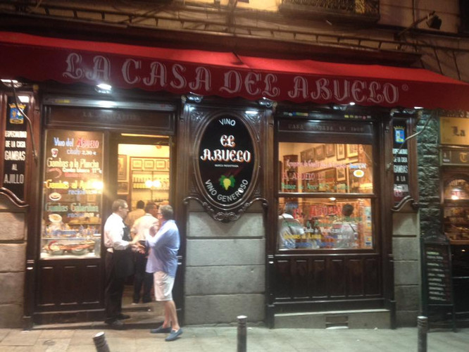 MADRID - LA CASA DEL ABUELO
