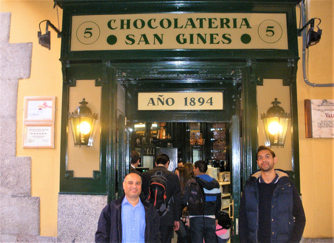 MADRID - CHOCOLATERIA SAN GINÉS