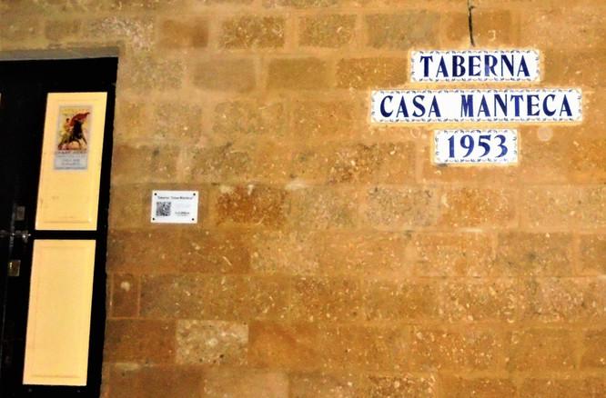 ANDALUCÍA - CÁDIZ - TABERNA CASA MANTECA