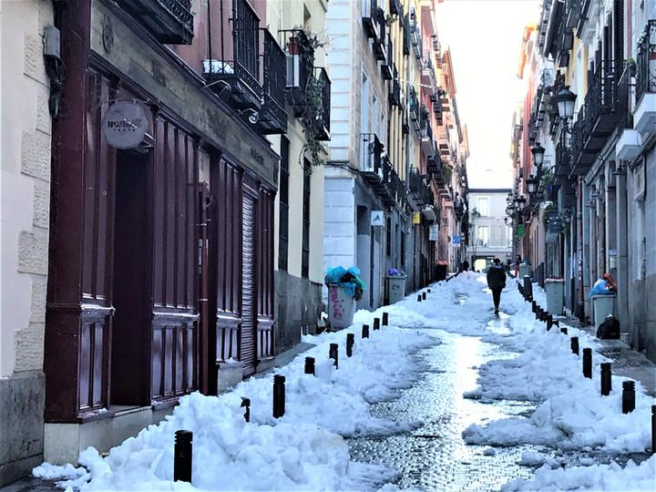 MADRID - RESTAURANTE TRICICLO
