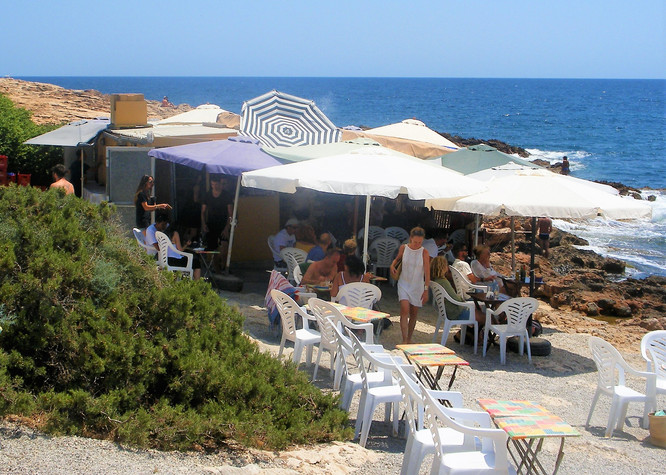 IBIZA - CALA TALAMANCA - THE FISH SHACK