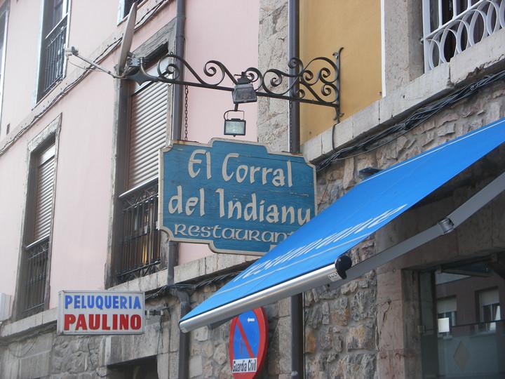 ASTURIAS - ARRIONDAS - EL CORRAL DEL INDIANU
