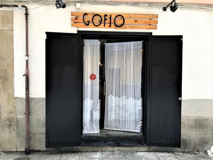 MADRID - RESTAURANTE GOFIO