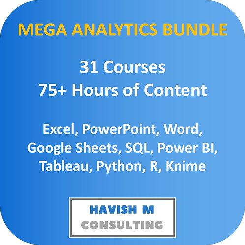 Mega Analytics Bundle