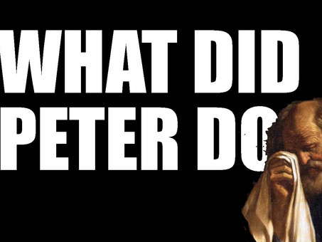 What Did Peter Do?