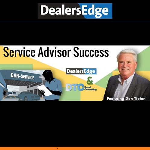 Online Service Advisor Success Training