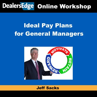 Ideal Pay Plans for General Managers