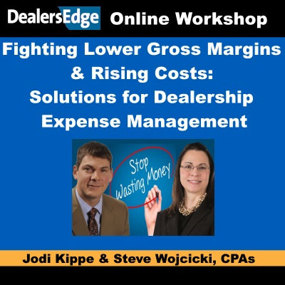 Lower Gross Margins & Rising Costs: Solutions for Dealership Expense Management