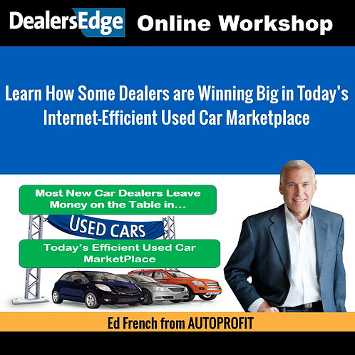 Learn How Some Dealers are Winning Big in Today's COVID-19 Effected Used Car Mar
