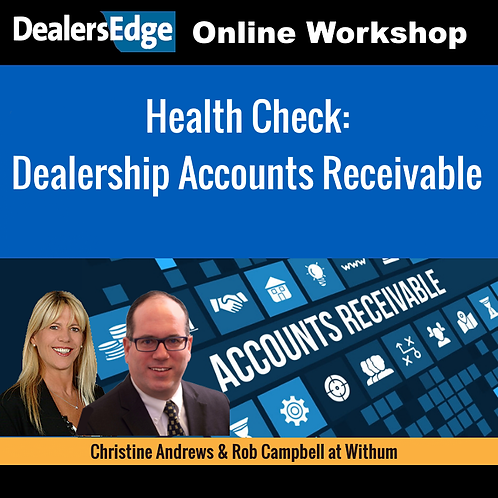 Health Check: Dealership Accounts Receivable