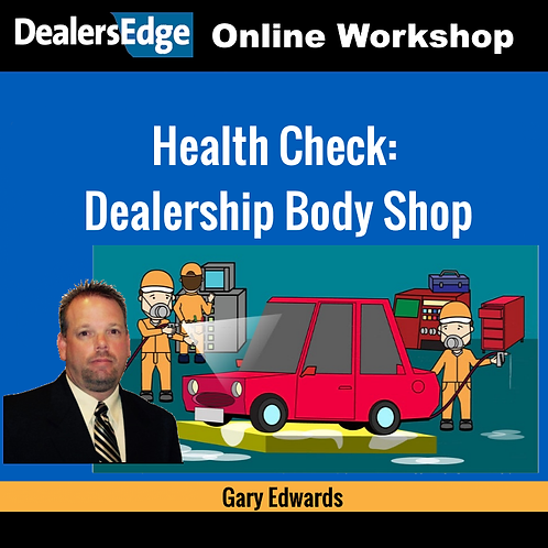 Health Check: Dealership Body Shop