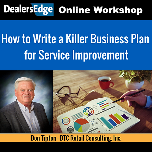 How to Write a Killer Business Plan for Service Improvement