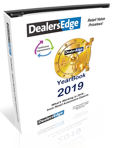 2019 Yearbook Whats Working From Retail Automotive Experts