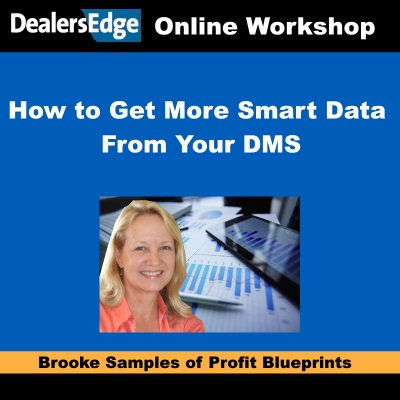 How to Get More Smart Data From Your DMS