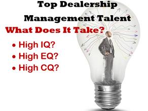 Top Dealership Management Skills