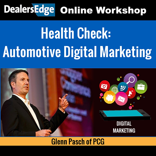 Health Check: Automotive Digital Marketing