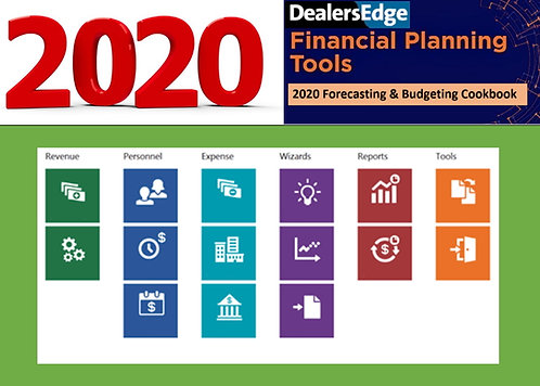 2020 Dealership Planning Success Cookbook