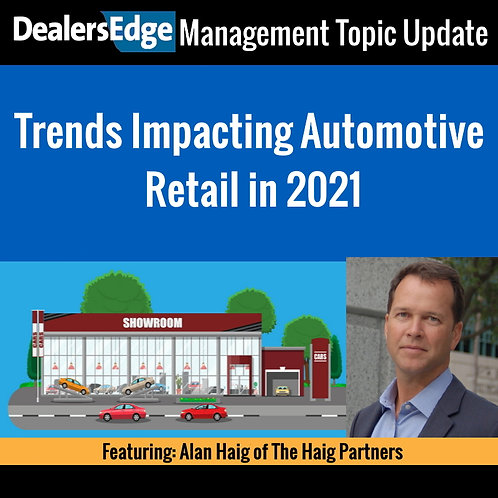 Trends Impacting Automotive Retail in 2021