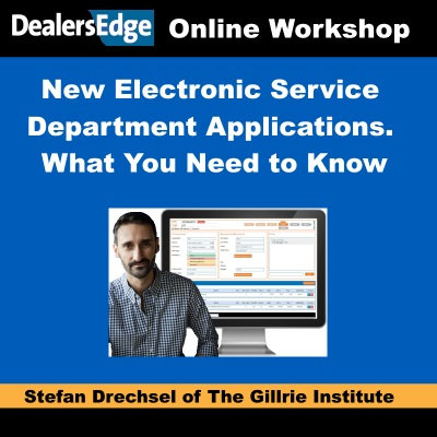 New Electronic Service Department Applications. What You Need to Know