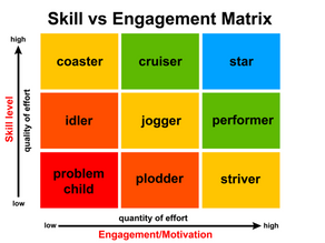 Growing a Team of Super Stars... Skill and Engagement Required