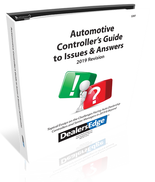 Automotive Controller's Guide to Issues & Answers - 2019