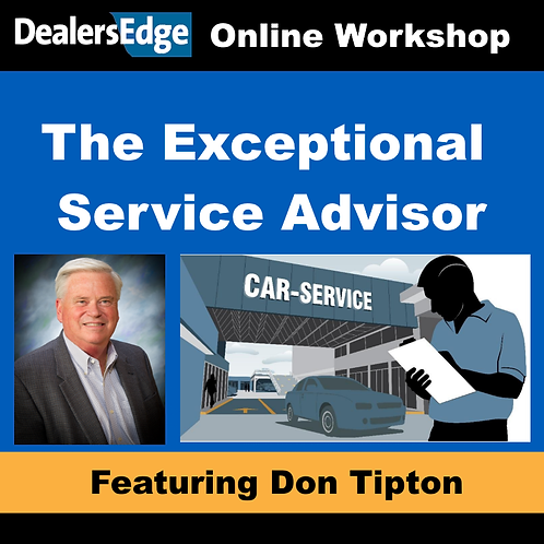 The Exceptional Service Advisor