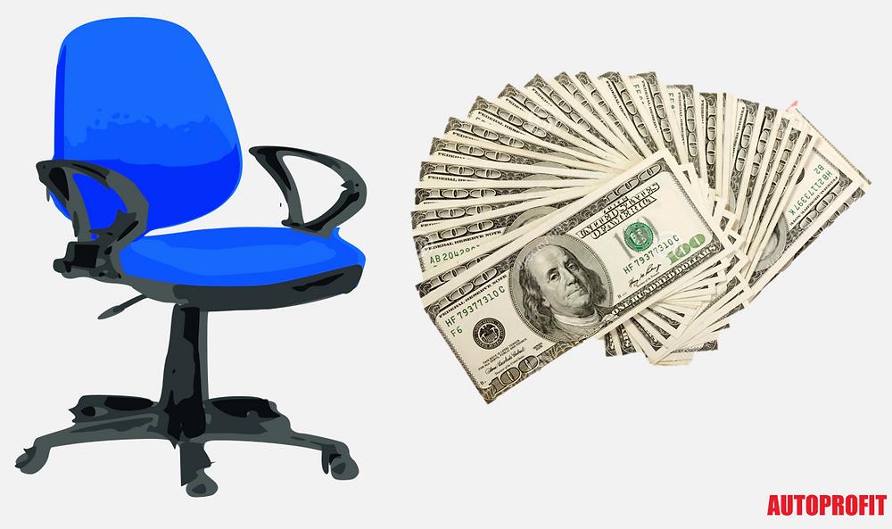 Cost per Salesperson Chair