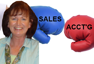 Reconcile Differences Between the Sales/CRM Gross and the Accounting Gross