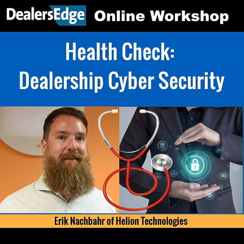 Health Check: Dealership Cyber Security