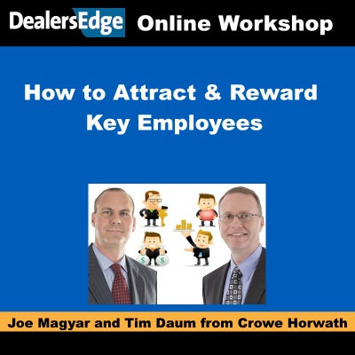 Attract & Reward Employees Via Compensation, Profit Participation or Ownership