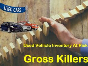 Used Vehicle GROSS KILLERS | Reduce Loss Exposure
