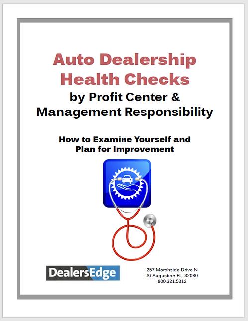 Auto Dealership Health Checks