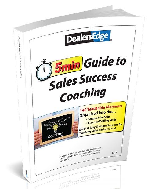 5-Minute Guide to... Sales Success Coaching