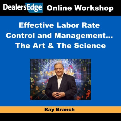 Effective Labor Rate Control and Management… The Art & The Science
