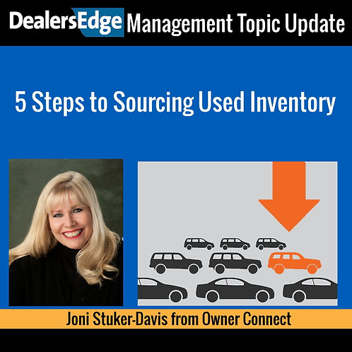 5 Steps to Sourcing Used Car Inventory