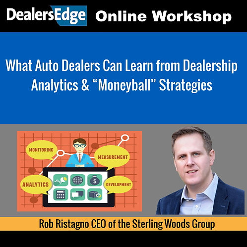 "What Auto Dealers Can Learn from Dealership Analytics & ""Moneyball"" Strategies"