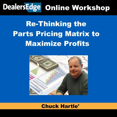 Re-Thinking the Parts Pricing Matrix to Maximize Profits in 2017