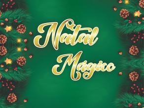 Artistas locais cantam e encantam no caminhão itinerante do Natal Mágico