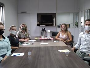 Comissão de Capacitações 2021 realiza reunião e alinha projeto