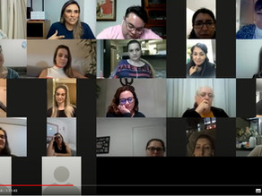 Nucleadas do Núcleo da Mulher Empresária participam do curso online Lifelong Learning