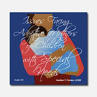 Issues Facing Adoptive Mothers Audio CD Set